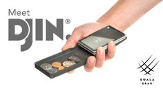 Djin, which is a simple wallet, is one of the most modern and outdated products of this century. This is a wallet fitted in with top features and qualities that helps it stand out.  The purpose was to create a wallet that is not too bulky nor too minimal in order to help the users use their money and cards as fast and as efficient as possible. With only a few short moves you can easily access all the different compartments that exists within this wallet.