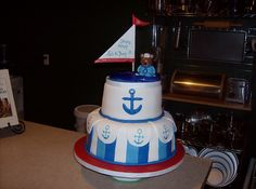 Ships Ahoy... It's A Boy!! Baby Shower Cake by Pam's Homemade Cakes, via Flickr