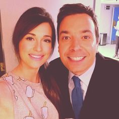 Kacey Musgraves and Jimmy!