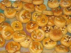 Neodolateľné slané chuťovky nielen na Veľkú noc - Magazín Food And Drink, Peach, Cookies, Recipes, Recipies, Crack Crackers, Biscuits, Peaches, Cookie Recipes