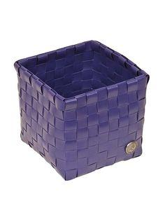 Fioletowy kosz do przechowywania rzeczy, wykonany z tworzywa sztucznego z kampanii Handed By 21 PLN  #limango #sale #basket #home