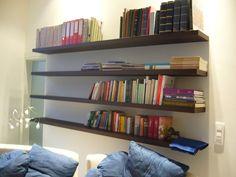 Boekenplanken impressie