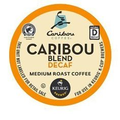 CARIBOU COFFEE DECAF BLEND 72 K CUPS >>> Insider's special review you can't miss. Read more  : K Cups