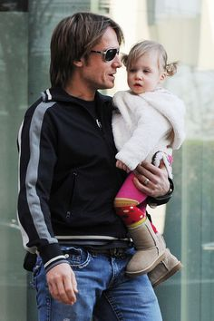 Keith Urban and Sunday Rose