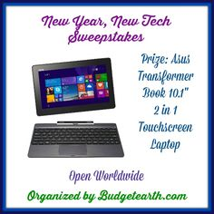 Blog post at Budget Earth : Welcome to the New Year, New Tech Sweepstakes Organized by Budget Earth   I don't know about you guys, but 2015 is so far off to [..]