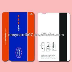 high quality PVC magnetic stripe card/hotel magnetic key card $0.02~$0.08