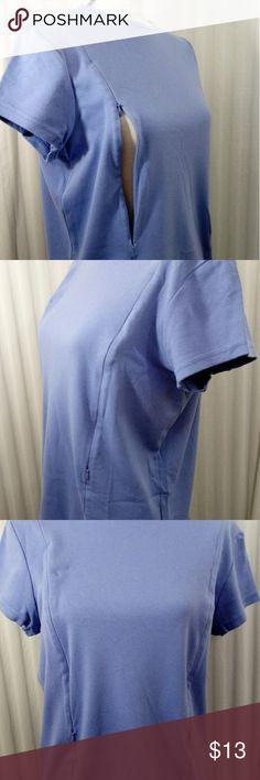 d5bb49b7e75 Breastfeeding Nursing Blue Size Large Tunic C CO NURSING WEAR Tops Tunics