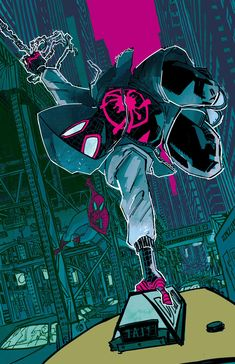phone wall paper for men A current favourite of mine: Into the Spiderverse action shot wallpaper Marvel Comic Universe, Marvel Art, Marvel Heroes, Marvel Avengers, Ms Marvel, Captain Marvel, All Spiderman, Amazing Spiderman, Miles Morales Spiderman