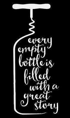 Wine - Every Empty Bottle 2 // 14x23 // $65