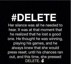 #DELETE