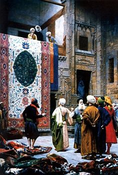 Jean Leon Gerome The Carpet Merchant