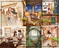 Ilustradoras sul-coreana Aeppol Blog Vanessa Bayer