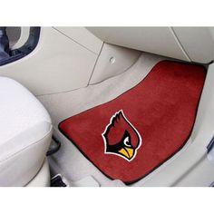 Arizona Cardinals NFL Car Floor Mats (2 Front)