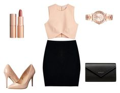 """""""Sin título #51"""" by maryjose-1998 ❤ liked on Polyvore featuring Finders Keepers, Madden Girl, Michael Kors, Boohoo, Charlotte Tilbury and Balenciaga"""
