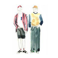 #doodle #낙서 #illust #illustration #イラスト #일러스트 #그림 #絵 #드로잉 #drawing #패션일러스트 #fashionillustration #샤이니 #shinee