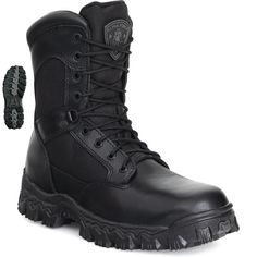 Check out our Rocky Alpha Force Men's Zipper Tactical Waterproof Boot $104.99