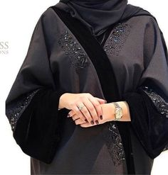 Tigress collection Iranian Women Fashion, Islamic Fashion, Muslim Fashion, New Abaya Design, Abaya Designs, Abaya Fashion, Kimono Fashion, Women's Fashion, Wedding Abaya