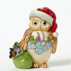Jim Shore Mini Christmas Owl