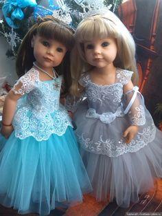 Девочки под ёлочкой / Куклы Gotz - коллекционные и игровые Готц / Бэйбики. Куклы фото. Одежда для кукол