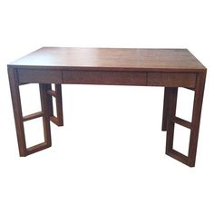 Chairish: Bungalow 5 Cerused Oak Desk