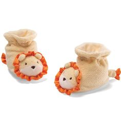 GUND 8cm Cutie Booties Lion for 0 - 6 Months (Yellow): Amazon.co.uk: Baby