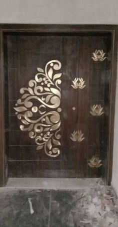 Marblehaqarts presents very much attractive and trending MOP Inlay work designs on wooden doors and marble floors with our skilled labours and experts. House Main Door Design, Wooden Front Door Design, Grill Door Design, Pooja Room Door Design, Interior Door Styles, Door Design Interior, Modern Wooden Doors, Foyer, Entryway