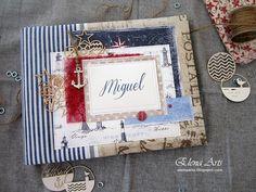 Elena Arts: Libro de firmas de comunión para Miguel.8/05