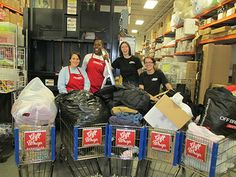 The Container Store collected 14,000 Warm Coats this winter! Organization with heart!!