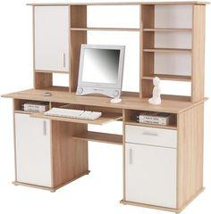 Praktický písací stôl s nadstavcom a úložným priestorom: perfektná voľba!