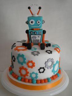 Torta Robot   Pastelera Bakery Shop   Flickr