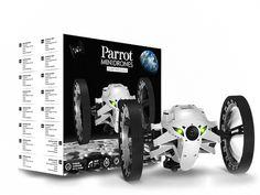 PARROT JUMPING SUMO IL ROBOT CONTROLLATO DA SMARTPHONE E TABLET CON VIDEO LIVE E REGISTRAZIONE CHE SALTA FINO A 80CM