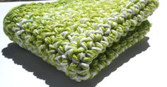 10 x10  Double Thick Hand Crocheted Washcloth by TSCrocheted, $4.10