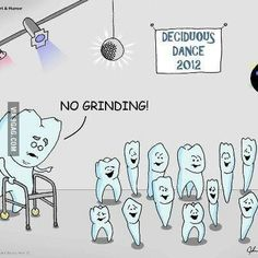 LOL dental dance!  Tooth grinding can be a major issue.  Visit us at Morrison Dental Group to help prevent tooth grinding.  www.MorrisonDentalGroup.com