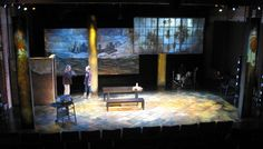 Day Trader. Scenic design by Stephen Gifford.