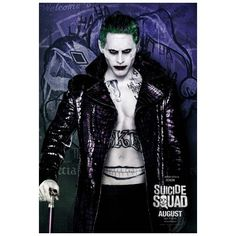 New Character Posters For SUICIDE SQUAD | Rama's Screen ❤ liked on Polyvore featuring home and home decor