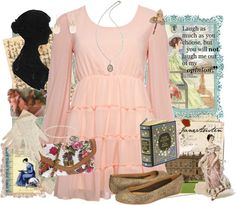 """""""Everything Modern Jane Austen"""" by thehollyc on Polyvore"""