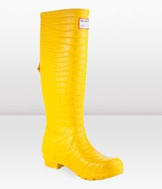 yellow rainboot for Meghan