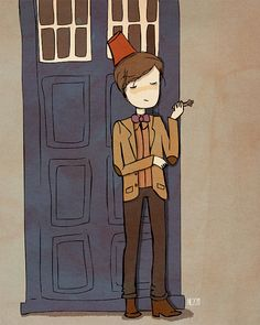 The 11th Doctor.