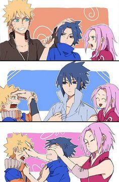 "Sakura be like ""Shush now, boys"""