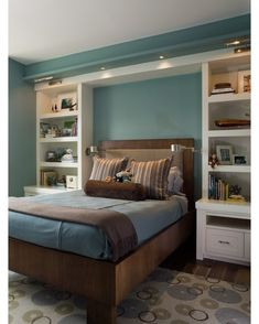 How to Get Uniqueness in Master Bedroom Design? : Master Bedroom Design For Small Space. Master bedroom design for small space. Master Bedroom Interior, Small Master Bedroom, Home Bedroom, Bedroom Decor, Bedroom Storage, Bedroom Shelving, Kids Bedroom, Bedroom Organization, Kids Rooms