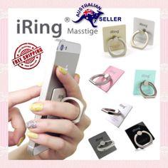 New iRing Universal Masstige Ring Grip Stand Holder Cell Phone iPhone Samsung