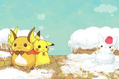 Pikachu and Raichu ^.^ ♡