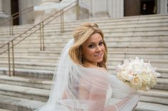 Gorgeous City Wedding Modern Wedding Inspiration Ideas Blush Wedding Photo by Matt Bigelow Photographer