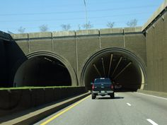 The entrance to tunnel in Mobile Alabama - my nightmare of every FL trip..I HATE the tunnel!