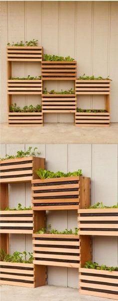 balkon ideen selber machen gartengestaltung terrassengestaltung praktische ideen obstkisten