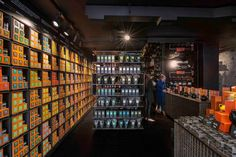 tea store design by Landini Associates, London UK coffee tea Uk Retail, Retail Shop, Pos Design, Retail Design, Fukuoka, Siren Design, Propaganda E Marketing, Brew Bar, Tea Brands