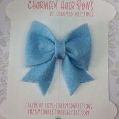 2.5 Sailor Bow Felt Hair Bow Hairband PARTY BOW Photo | Etsy Felt Hair Bows, Bow Hairband, Custom Bows, Felt Fabric, Handmade Birthday Cards, Hair Band, Photo Props, Sailor, Create Yourself