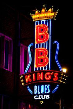 BB King's Blues Club by Thomas Hawk, via Flickr