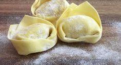 Selbstgemachte Tortellini mit Spinat-Ricotta-Füllung