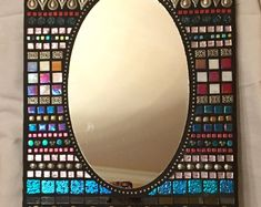 Mosaic Mirror/ Multi-Color